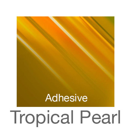 """Holographic Adhesive -12""""x20""""- Tropical Pearl"""