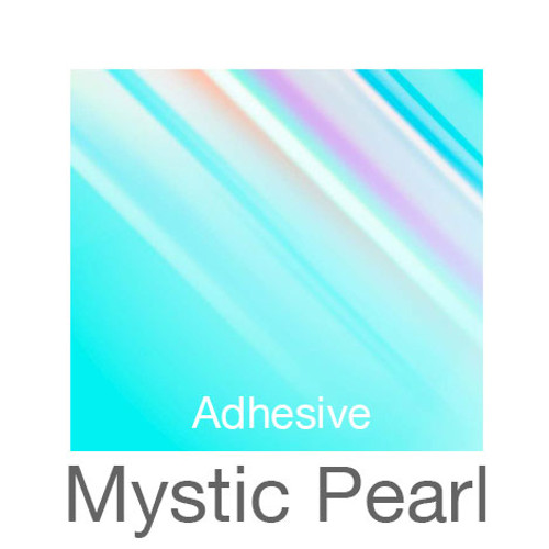 """Holographic Adhesive -12""""x20""""- Mystic Pearl"""