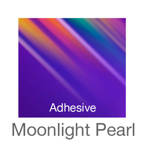 """Holographic Adhesive -12""""x20""""- Moonlight Pearl"""