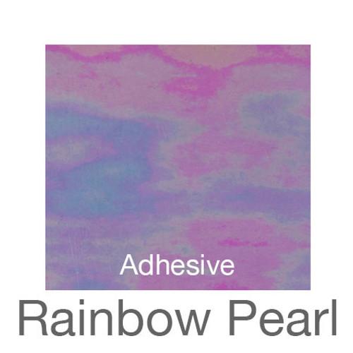 "Holographic Adhesive -12""x20""- Rainbow Pearl"