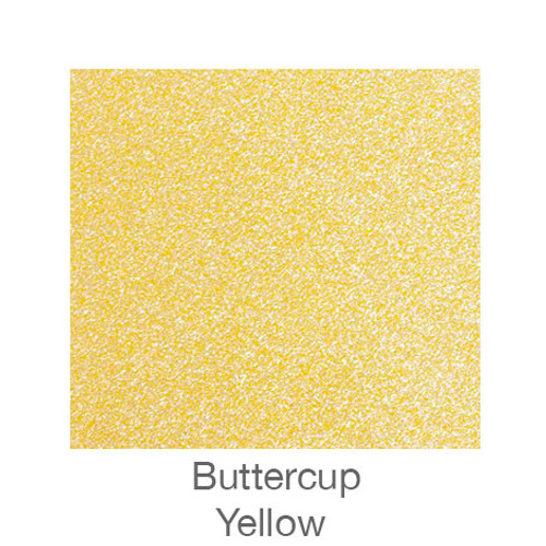 """Sparkle -12""""x12""""- Buttercup-Yellow"""