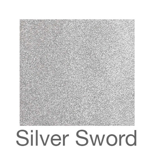 "Sparkle -12""x12""- Silver Sword"