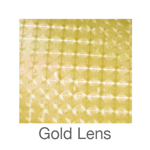 """EasyWeed Electric-12""""x15""""-Gold Lens"""