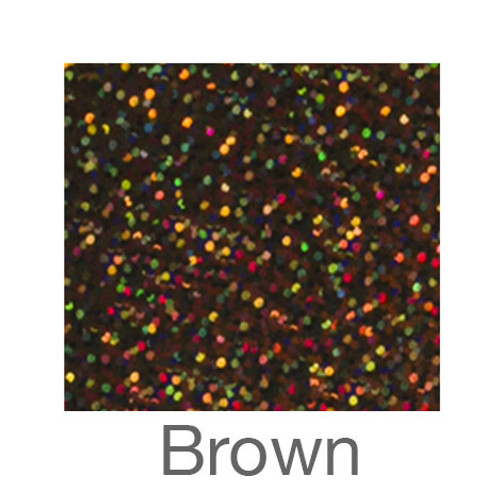 """Holographic-9""""x12""""-Brown"""