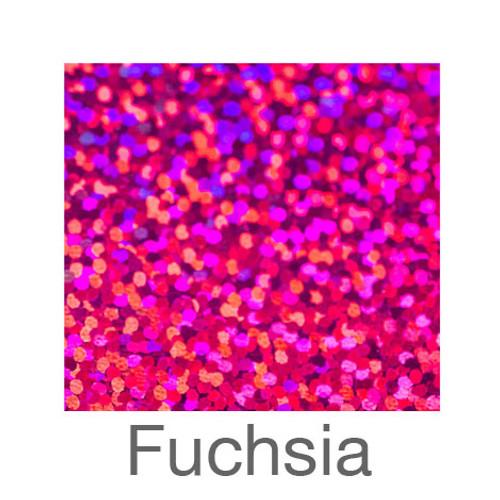 "Holographic-9""x12""-Fuchsia"