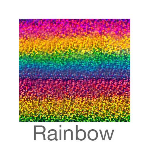 """Holographic-9""""x12""""-Rainbow"""