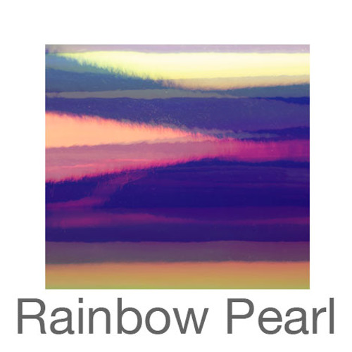 "Holographic-9""x12""-Rainbow Pearl"