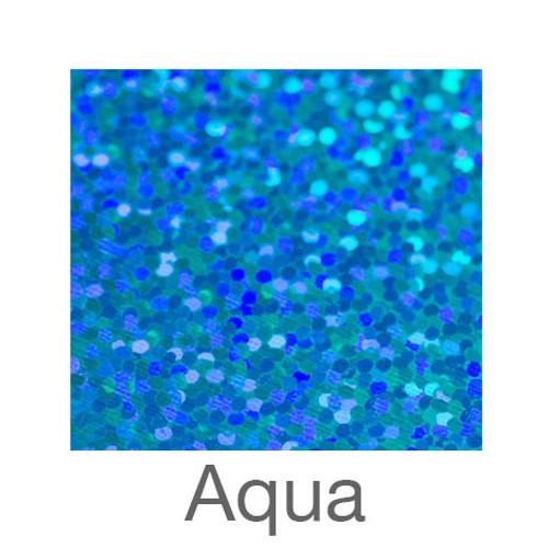 "Holographic-12""x20""-Aqua"