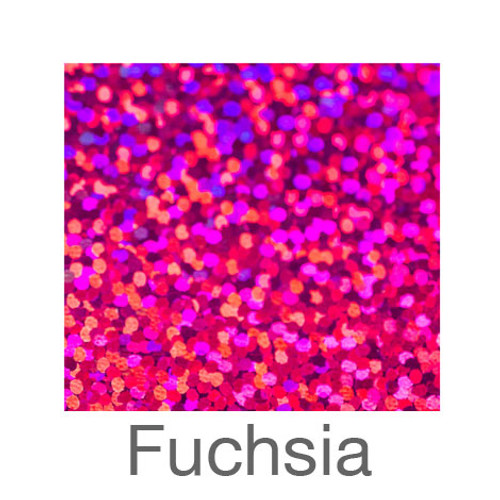 "Holographic-12""x20""-Fuchsia"