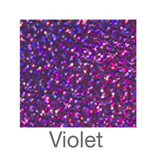 "Holographic-12""x20""-Violet"