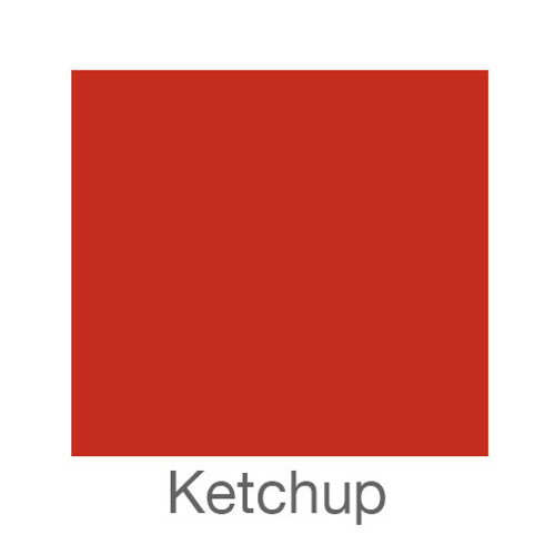 """EasyPSV Removable-12""""x12""""-Ketchup"""