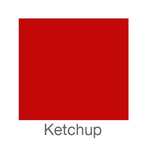 "EasyPSV Permanent-12""x12""-Ketchup"