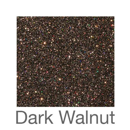 """Glitter -12""""x5ft. Roll-Dark Walnut"""