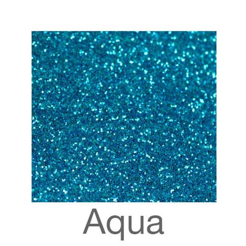 """Glitter -12""""x5ft. Roll-Aqua"""