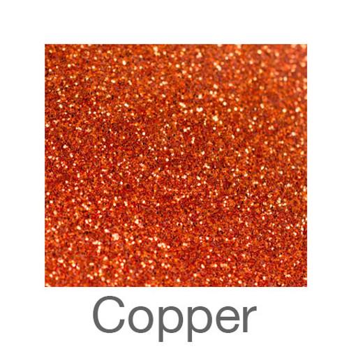 "Glitter -12""x5ft. Roll-Copper"