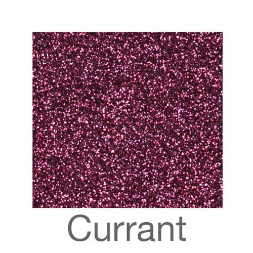 """Glitter -12""""x5ft. Roll-Currant"""