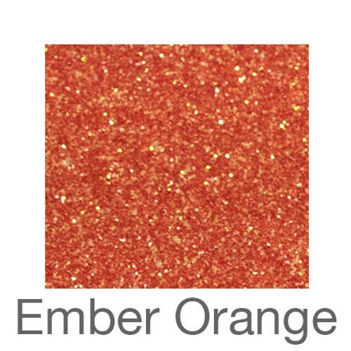 """Glitter -12""""x5ft. Roll-Ember Orange"""