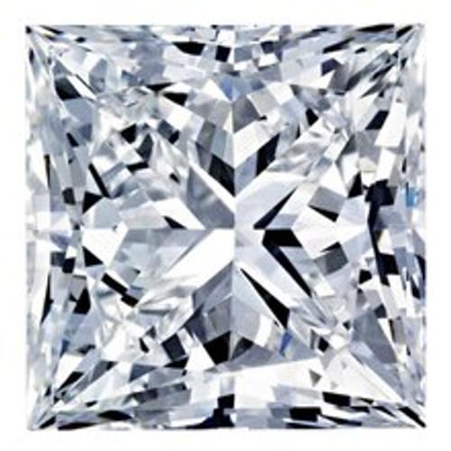 1.01CT Princess H VVS2 Lab Grown Diamond 0326