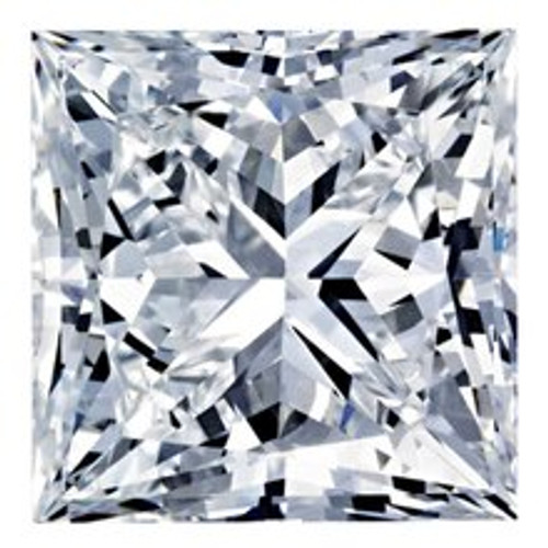 1CT Princess F VS2 Lab Grown Diamond 2804