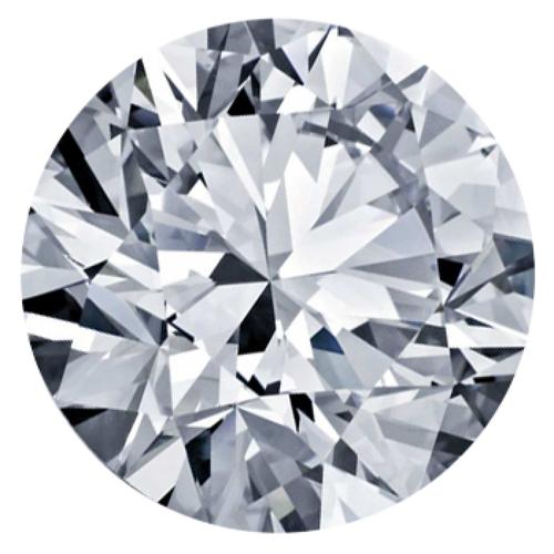 1.52CT Round H SI2 Diamond 4923