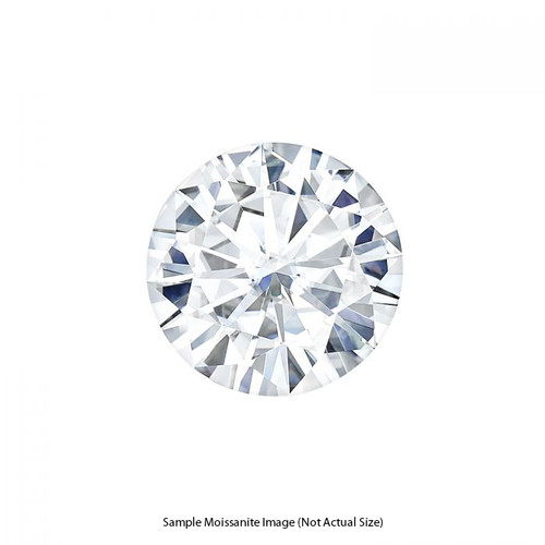 Charles & Colvard Round Cut Colorless Moissanite 8.5mm (2.20 CT. DEW)