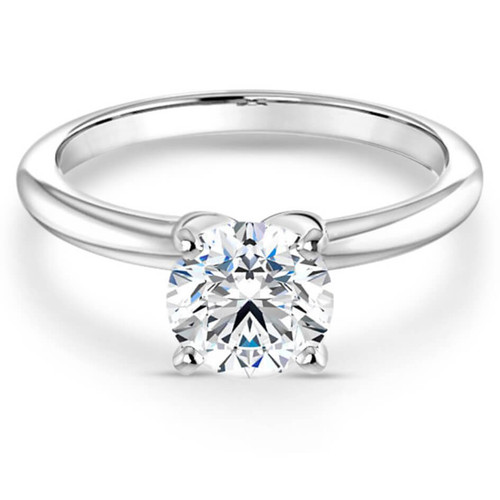 Ava Solitaire Engagement Ring