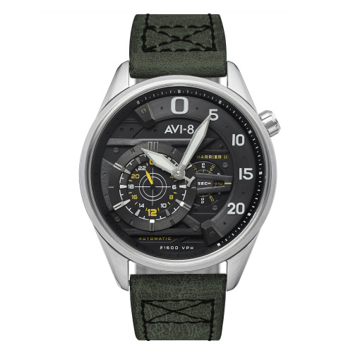 45MM Men's Hawker Harrier II AVI-8 Grey Watch