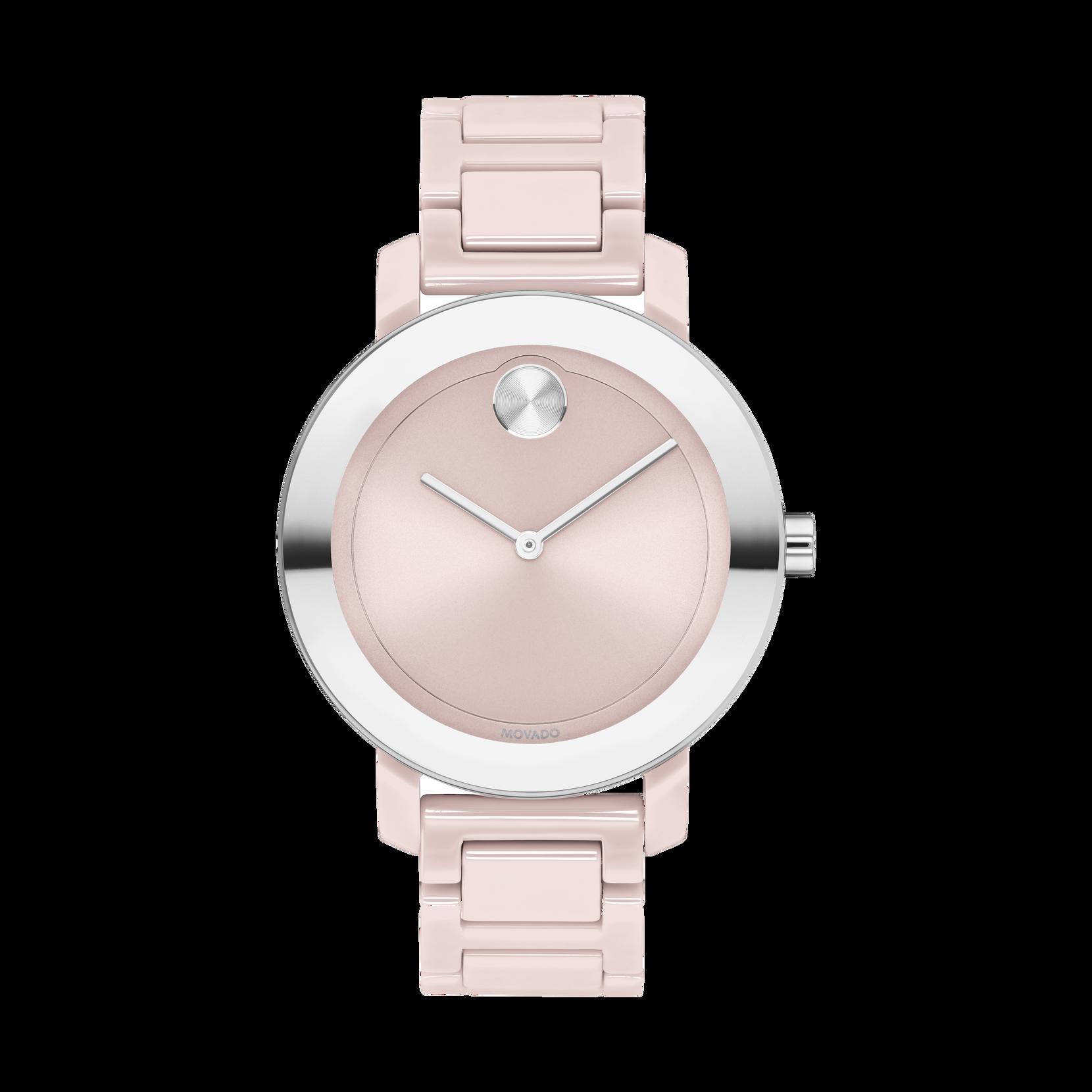 36MM Pink Bold Evolution Movado Watch