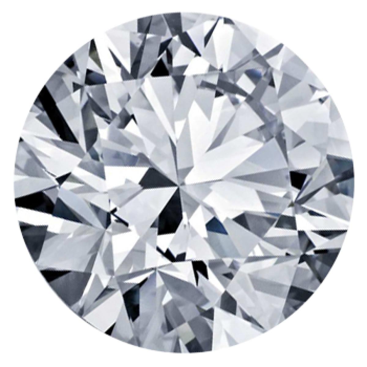 0.92CT Round F SI2 Lab Grown Diamond 3436