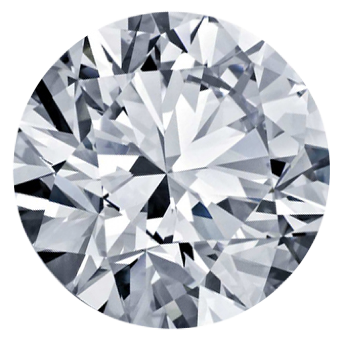 0.58CT Round I I1 Lab Grown Diamond 0020