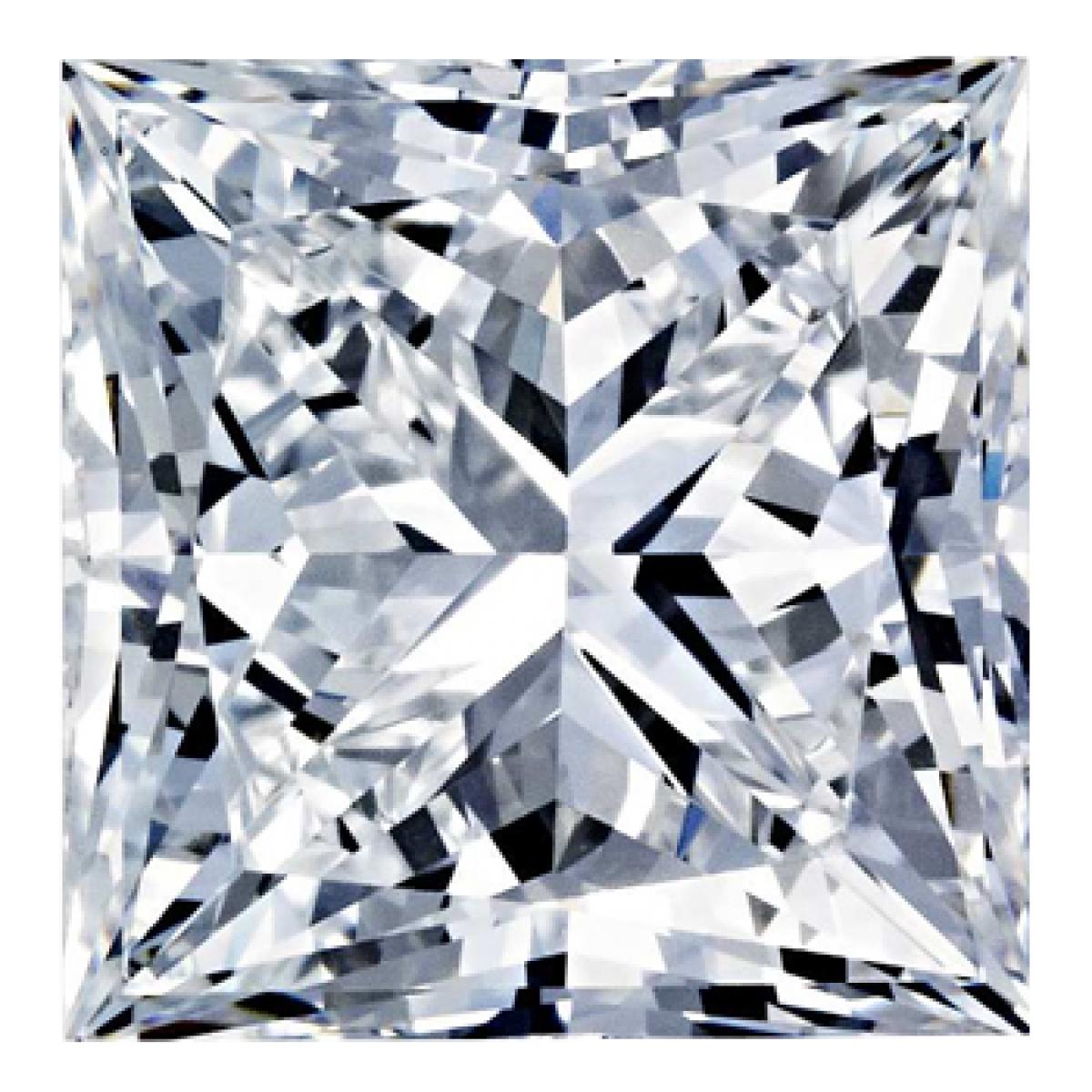 0.97CT Princess H SI2 Diamond 6286
