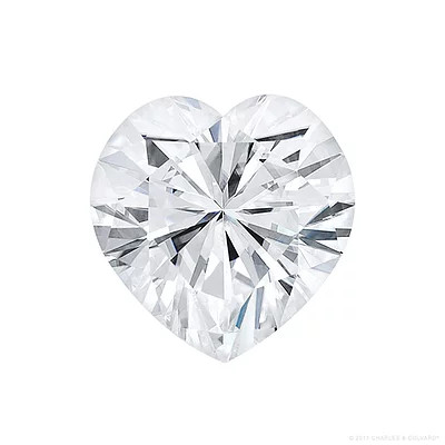 Gage Select Heart Cut Near Colorless Moissanite 6.0mm (0.75 CT. DEW)