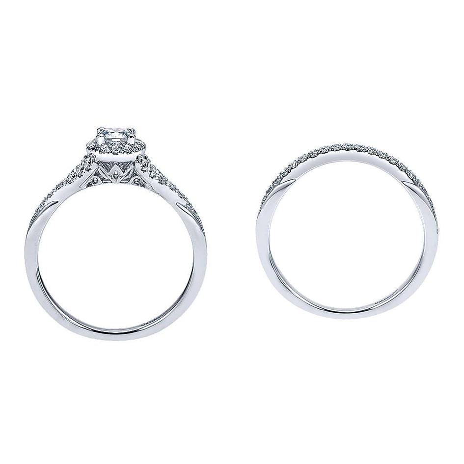Sonoma Preset Round Diamond Matching Bridal Set (0.55 TCW)