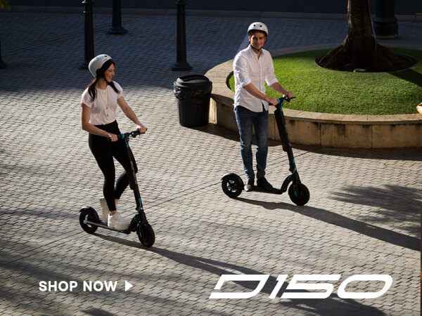 e-glide G120 electric commuter scooter