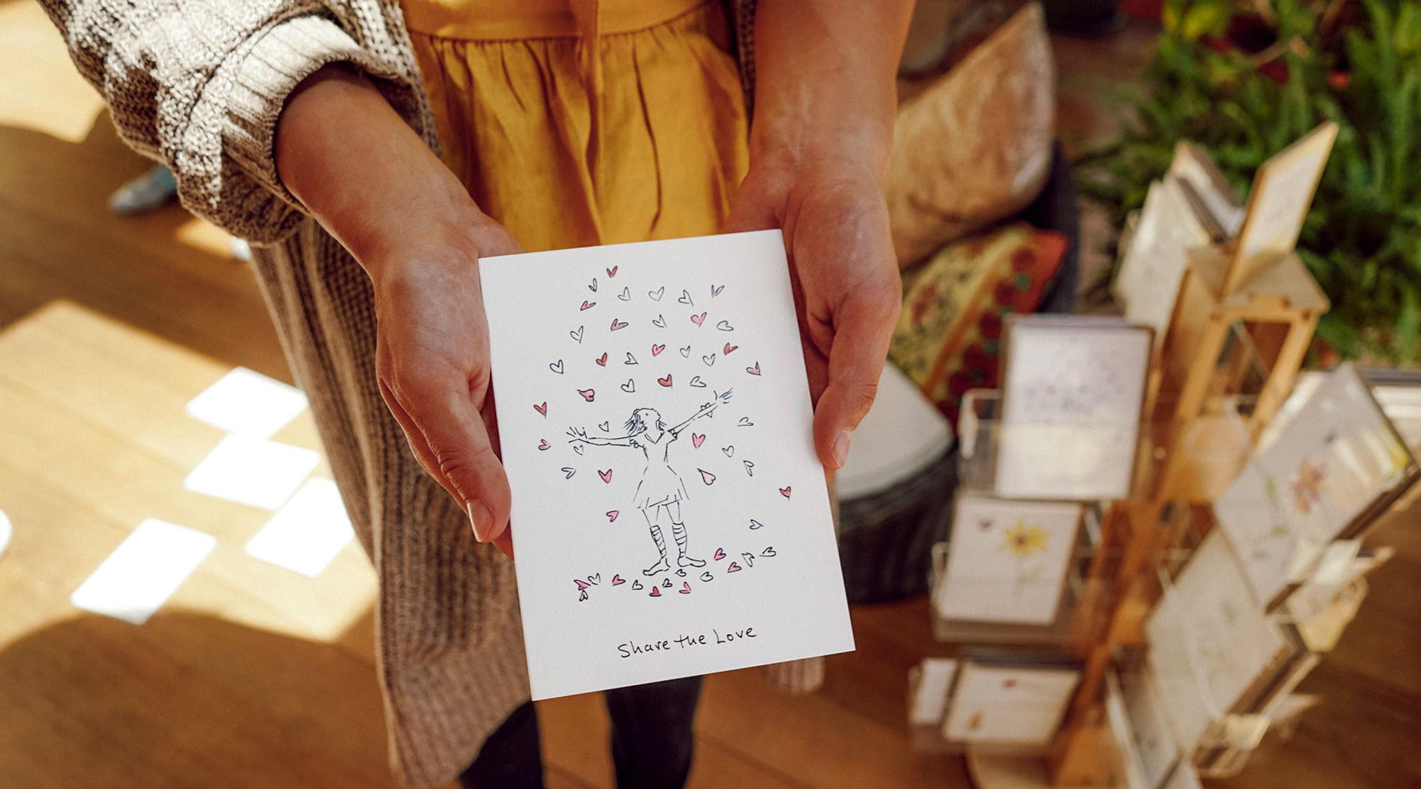 Receiving a card