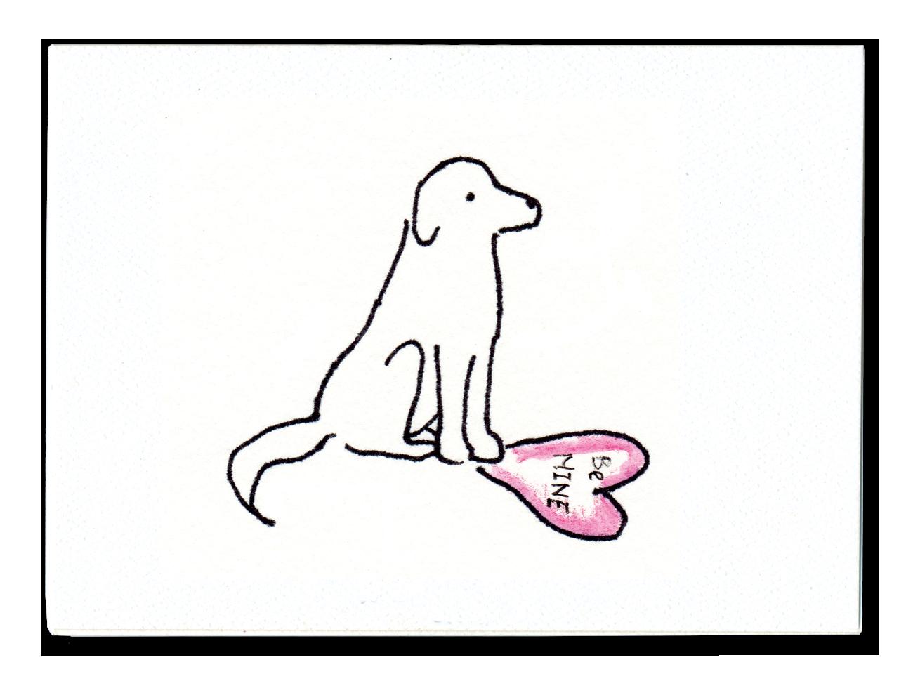 Valentines Puppy