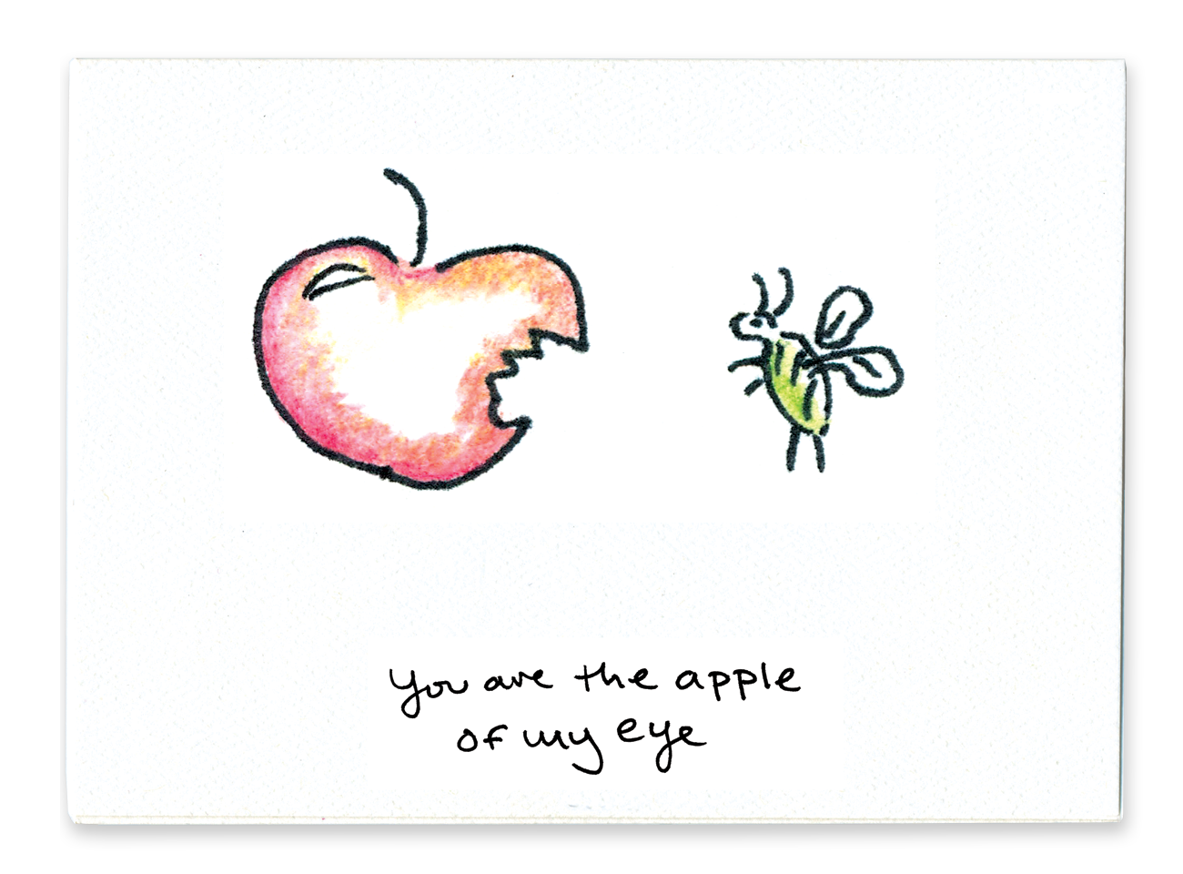 You Are The Apple Of My Eye
