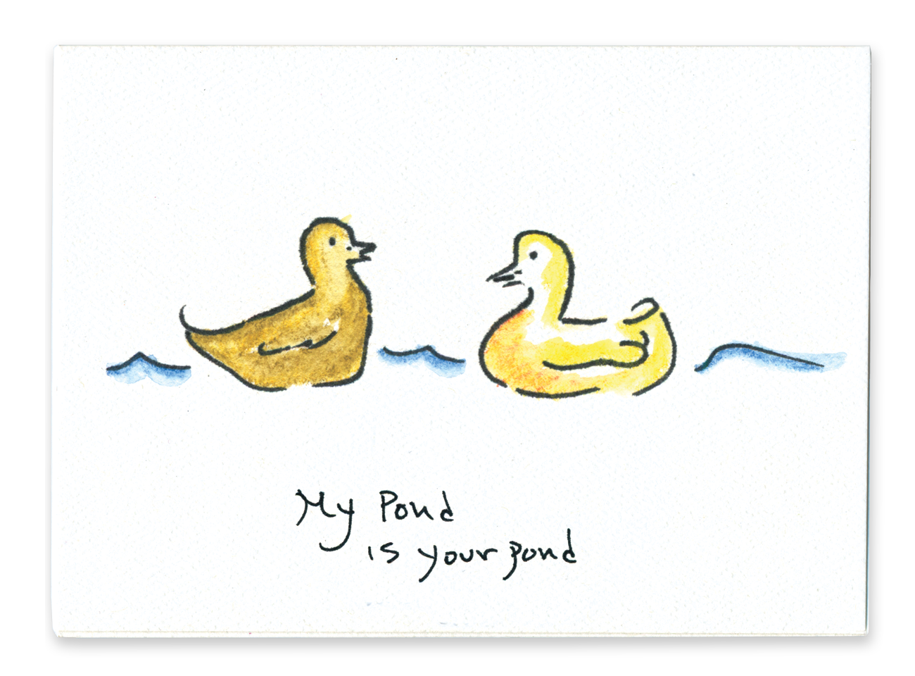 My Pond is Your Pond