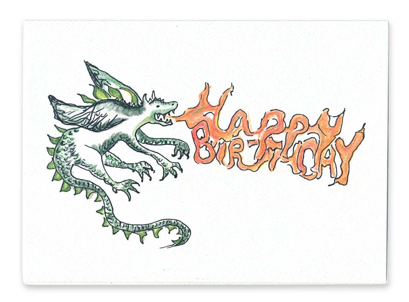 Happy Birthday (Dragon)