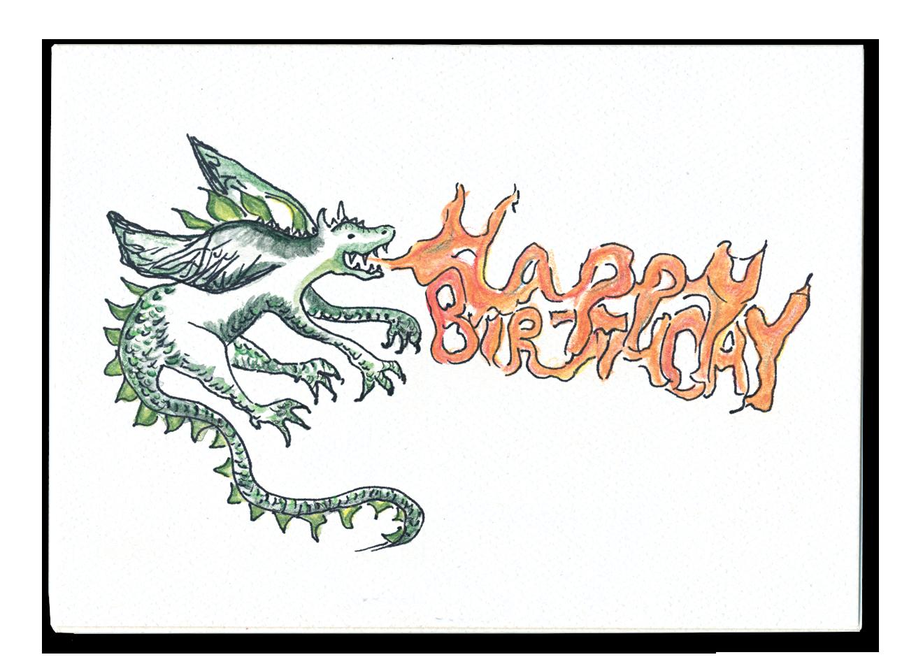 Happy Birthday (Dragon)