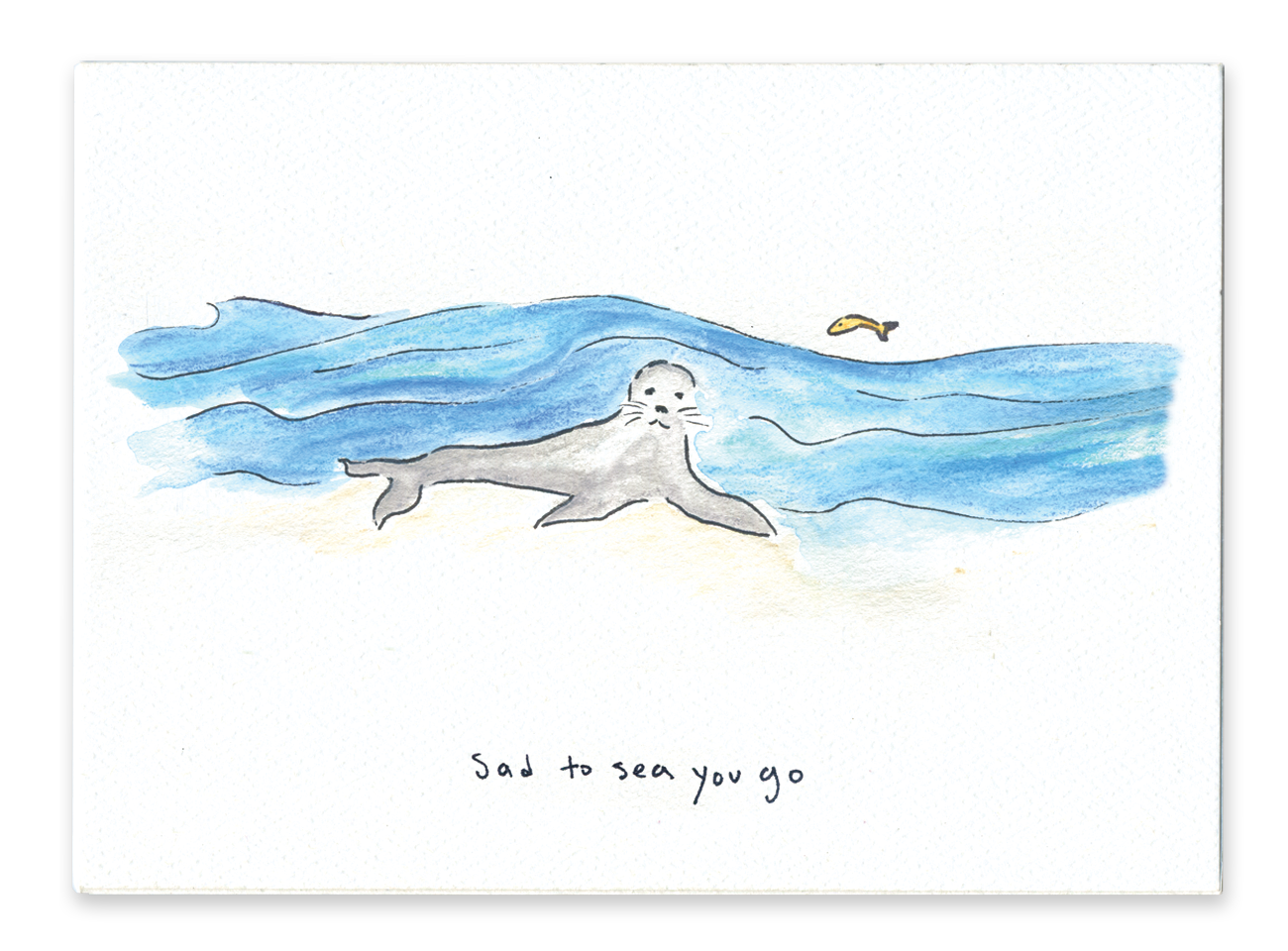 Sad To Sea You Go