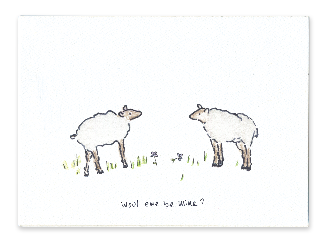 Wool Ewe Be Mine