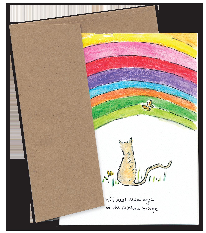 We Will Meet Them Again at the Rainbow Bridge (Cat)