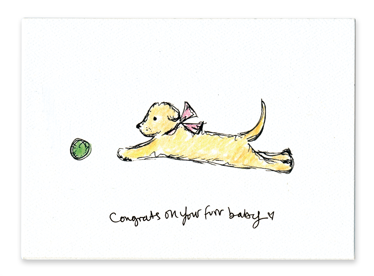 Congrats on Your Furbaby (Dog)