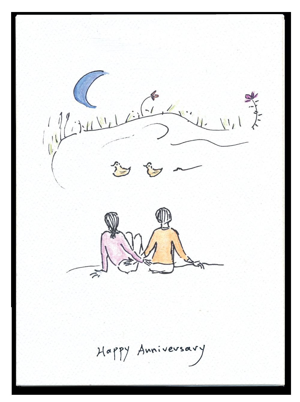 Happy Anniversary (ducks)