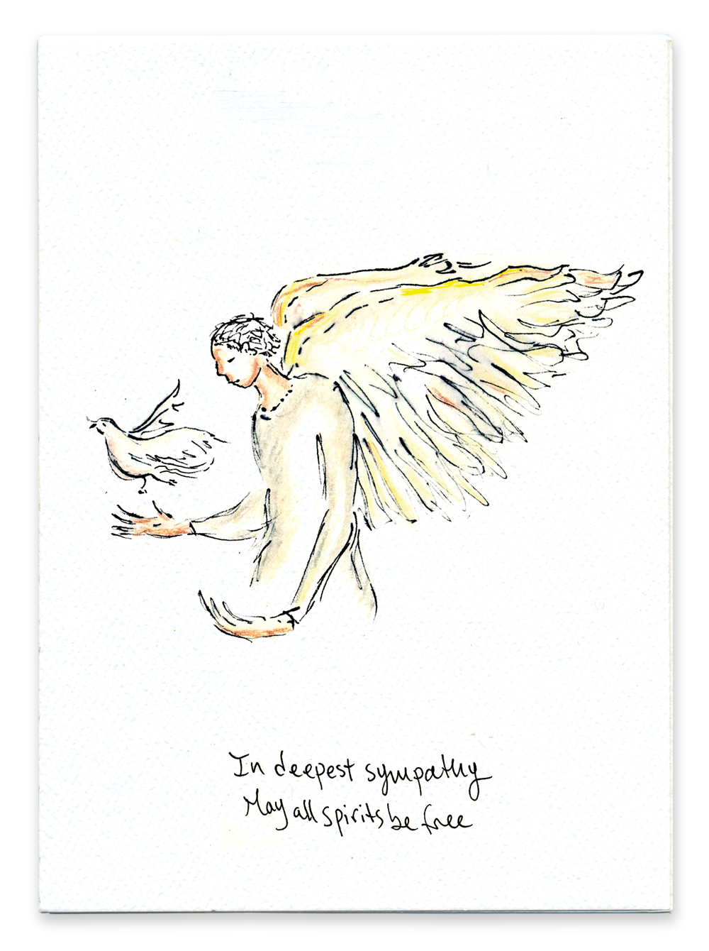 In Deepest Sympathy May All Spirits Be Free