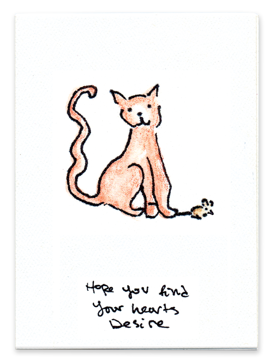 Hope You Find Your Hearts Desire (Cat)