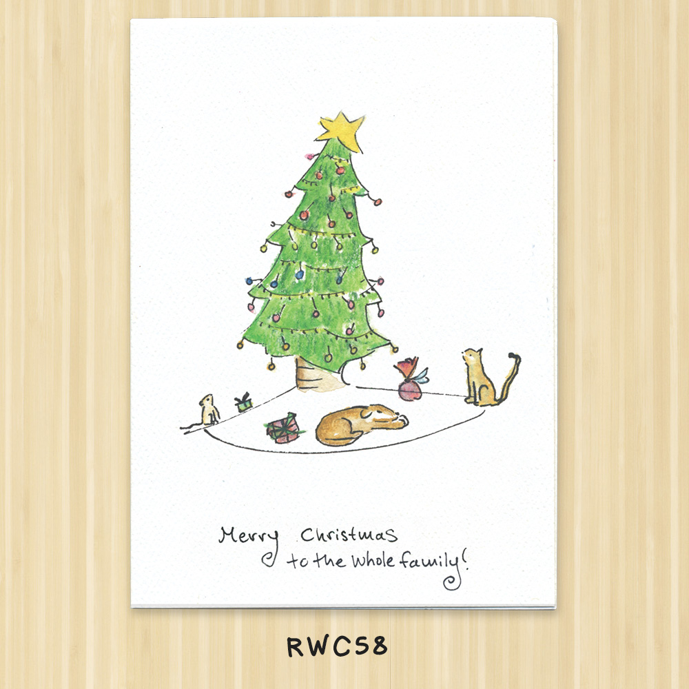pet christmas card