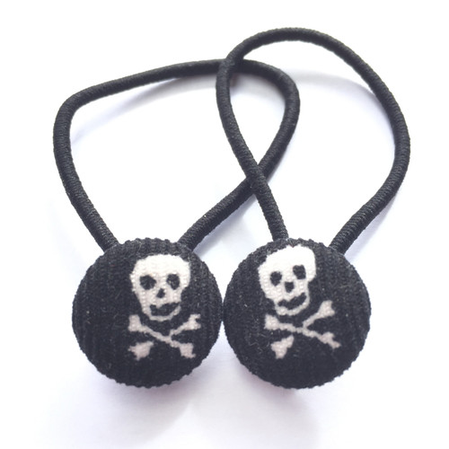 Ariella Skulls Hair Ties