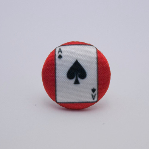Ariella Rockabilly Ace Of Spades Tie Pin